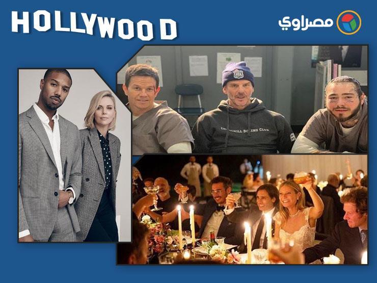 """نشرة هوليوود  """"سلمي حايك"""" تكشف عن لوك جديد وكواليس حفل زفاف """"جوينيث بالترو"""" وبوستر دعائي ضخم لـ""""Aquaman"""""""