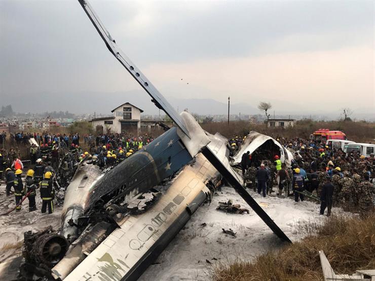 نيبال: ارتفاع حصيلة ضحايا الطائرة البنغالية المنكوبة إلى 50 شخصا