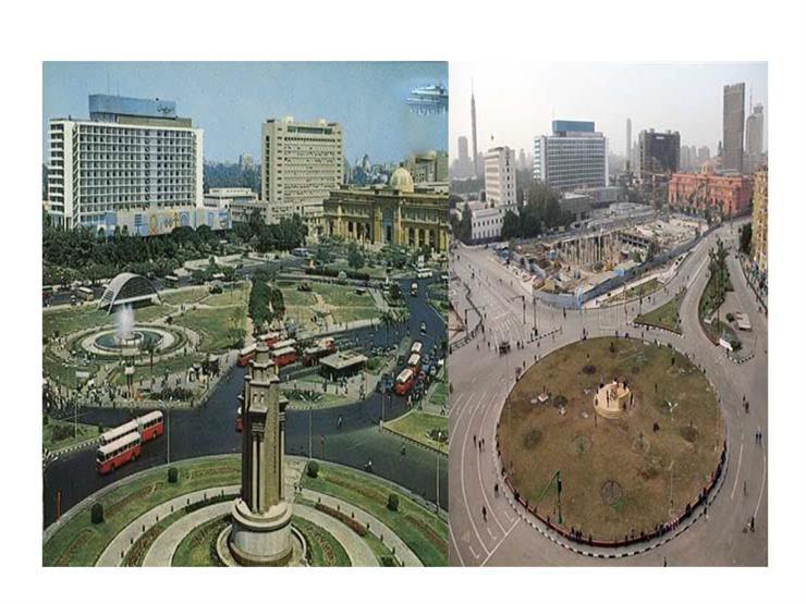 قبل تطويره.. شاهد كيف تغير ميدان التحرير؟ (فيديوجرافيك)