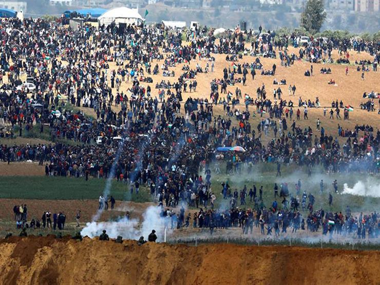 إصابة فلسطينيين بالرصاص والاختناق خلال مواجهات مع الاحتلال
