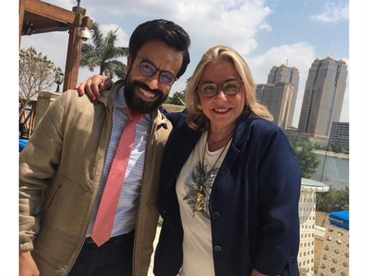 مها أبو عوف عن سامح حسين: أجمل وأحلى قلب