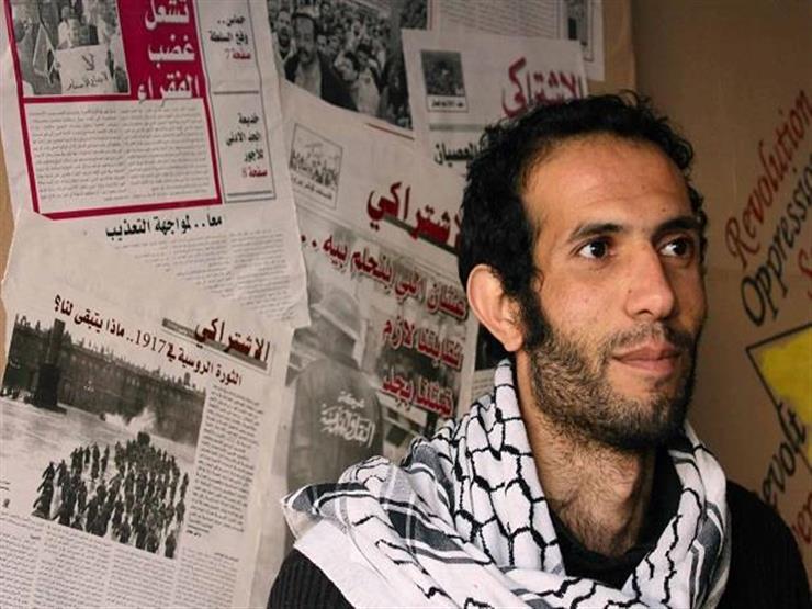 """حبس هيثم محمدين 15 يوما في قضية """"الاعتراض على تذاكر المترو"""""""