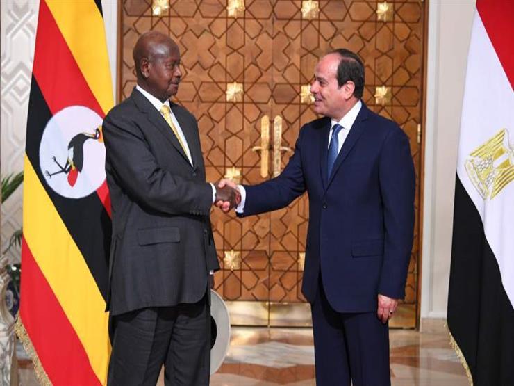 السيسي يهنئ نظيره الأوغندي بفوزه بولاية جديدة في الانتخابات الرئاسية
