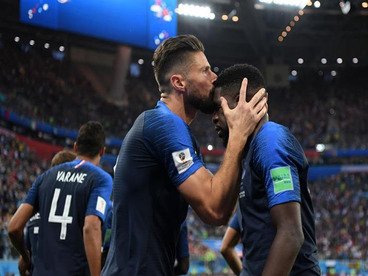 هدف فرنسا أمام بلجيكا