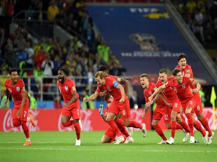 ضربات ترجيح إنجلترا وكولومبيا