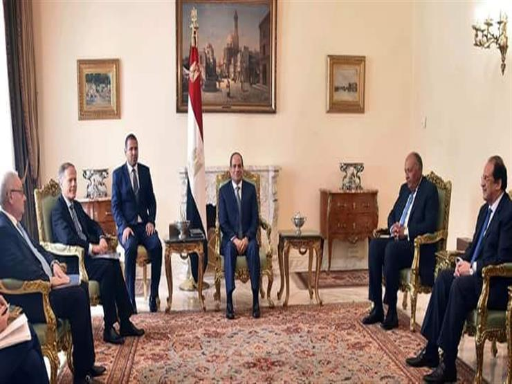 الرئاسة تكشف تفاصيل لقاء السيسي مع وزير الخارجية والتعاون الدولي الإيطالي