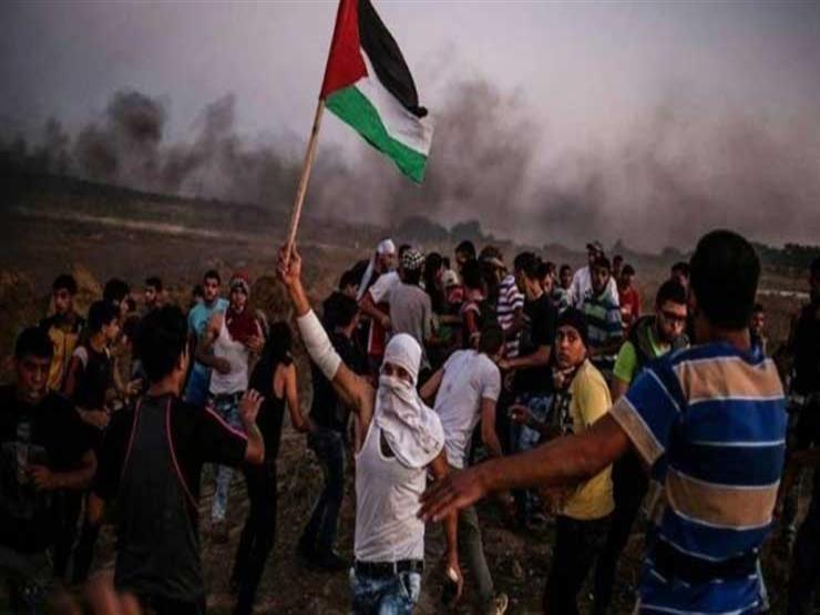 ارتفاع أعداد الفلسطينيين المصابين خلال قمع الاحتلال للمسيرات إلى 57