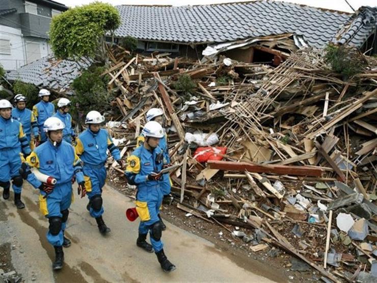ارتفاع حصيلة قتلى زلزال اليابان إلى 20 شخصا