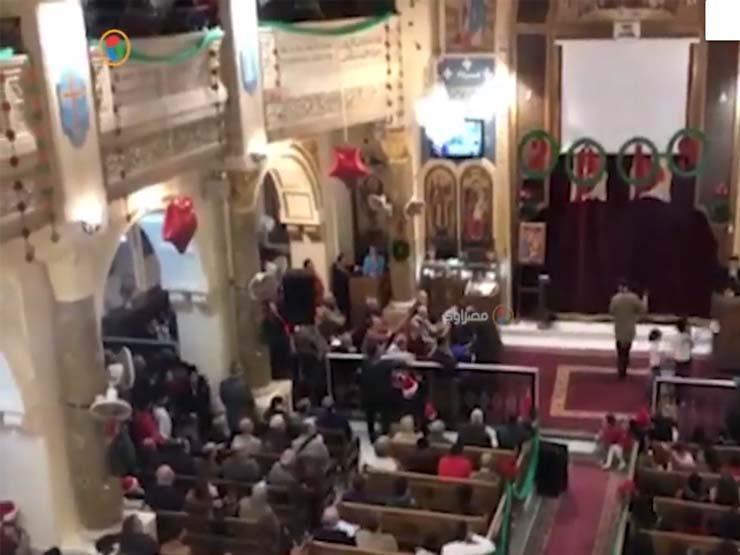 الاحتفال برأس السنة في كنيسة العذراء بمسرة