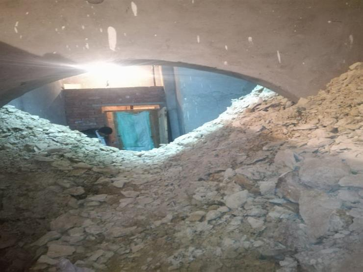 انهيار داخل عقار بحي دار السلام أثناء التنقيب عن الآثار ...