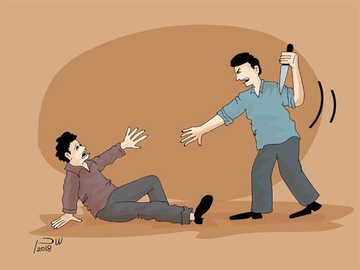 """""""كاميرا وخشبة وكوفية """".. تفاصيل محاولة قتل موظف وسرقته في كفر الشيخ"""