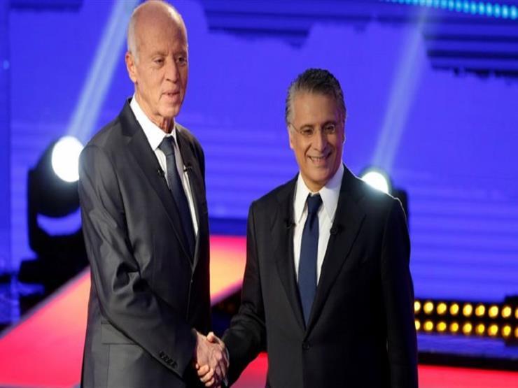 """جولة """"الحسم"""" بتونس: قيس سعيد ونبيل القروي يُدليان بصوتيهما (فيديو)"""