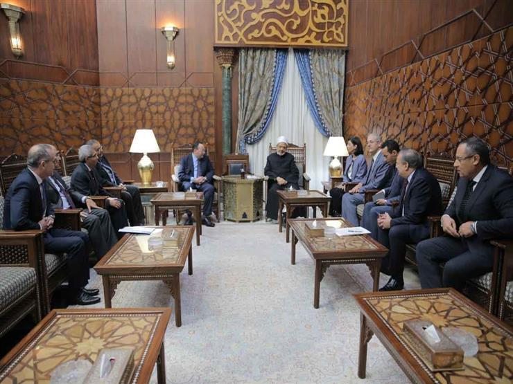 الإمام الأكبر لسفراء مصر بالخارج: جهودنا الخارجية قائمة على إحلال السلام