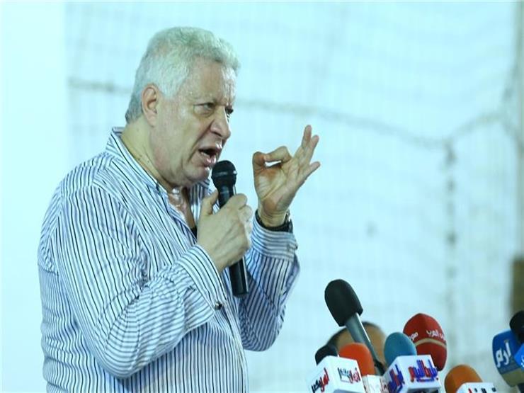 مرتضى منصور يعلن اعتزاله المحاماة وعضوية البرلمان في حال خصم نقطة للزمالك