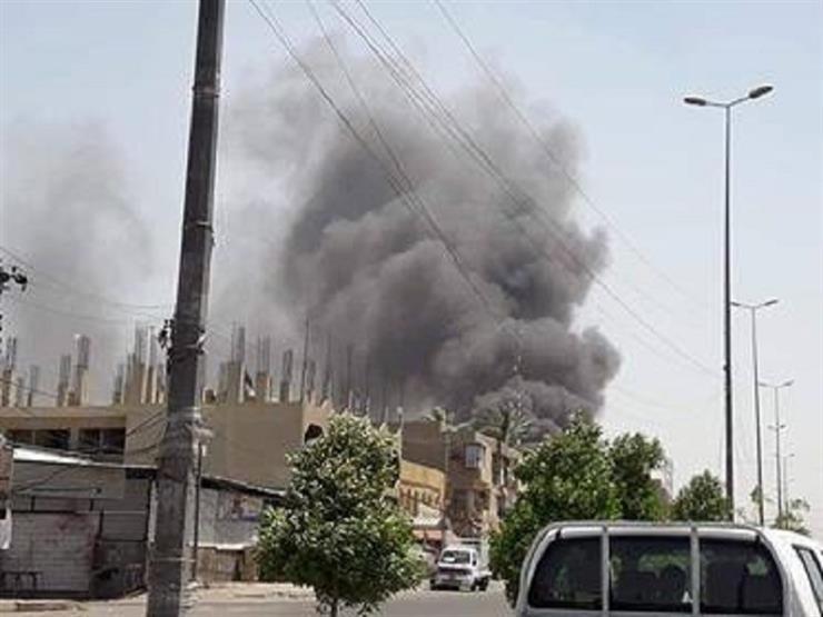 حريق ضخم في وسط بغداد.. و9 فرق تحاول إخماده