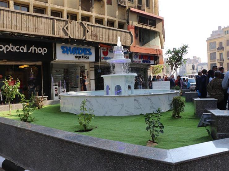"""""""القاهرة"""": دراسة لإنشاء نافورات مياه بشوارع حي عابدين"""
