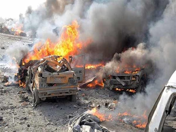 تفجير بسيارة مفخخة وإطلاق نار قرب قاعدة باجرام العسكرية الأمريكية في أفغانستان