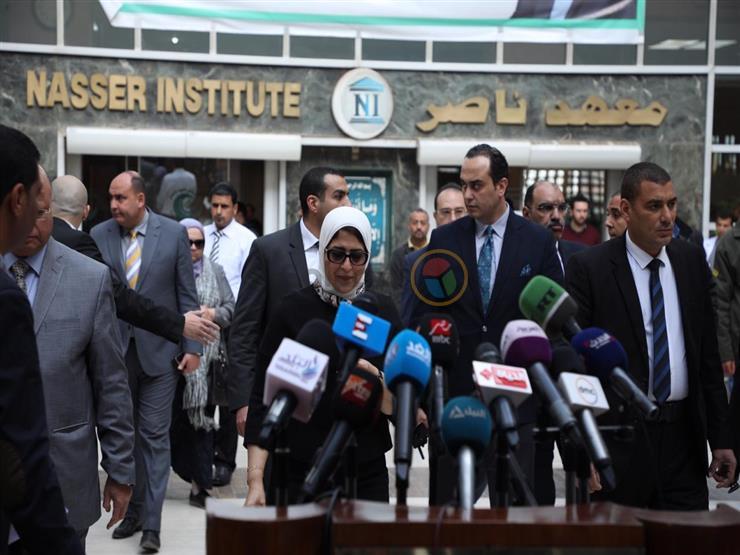 """وزيرة الصحة: ارتفاع وفيات حادث """"محطة مصر"""" لـ 22 شخصًا"""