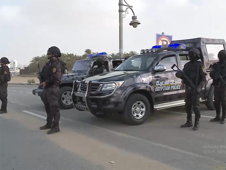 حملات أمنية وانضباطية بـ 3 محافظات لضبط الخارجين على القانون