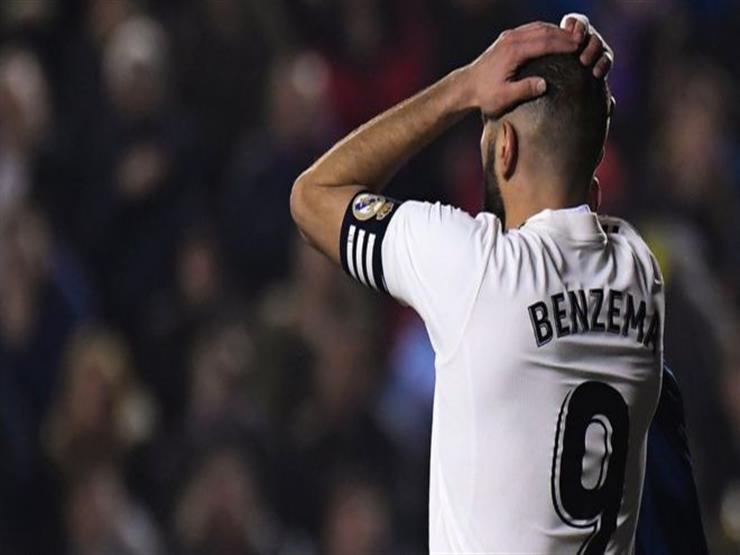 ريال مدريد يعلن إصابة كريم بنزيما بفيروس كورونا