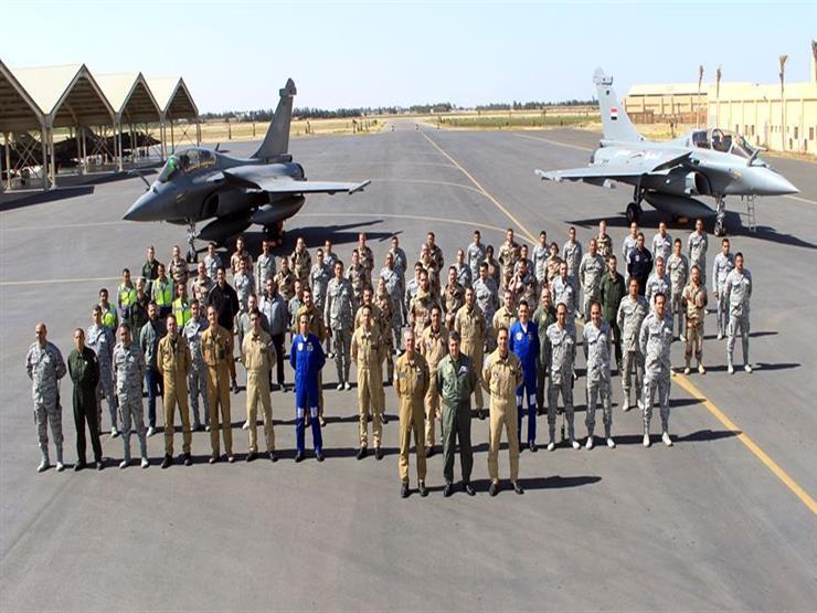مصر وفرنسا تنفذان تدريبًا جوياً مشتركًا بإحدى القواعد المصرية