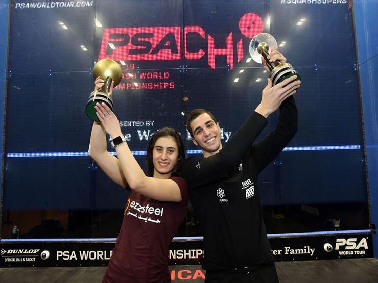 علي فرج ونور الشربيني يكتبان التاريخ في بطولة العالم للإسكواش