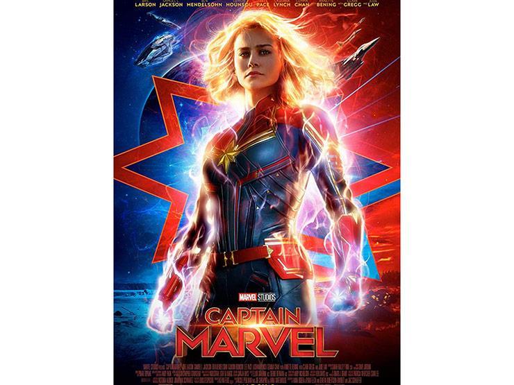 """إيرادات الأربعاء.. """"Captain Marvel"""" الأول و""""Alita"""" في المركز الخامس"""