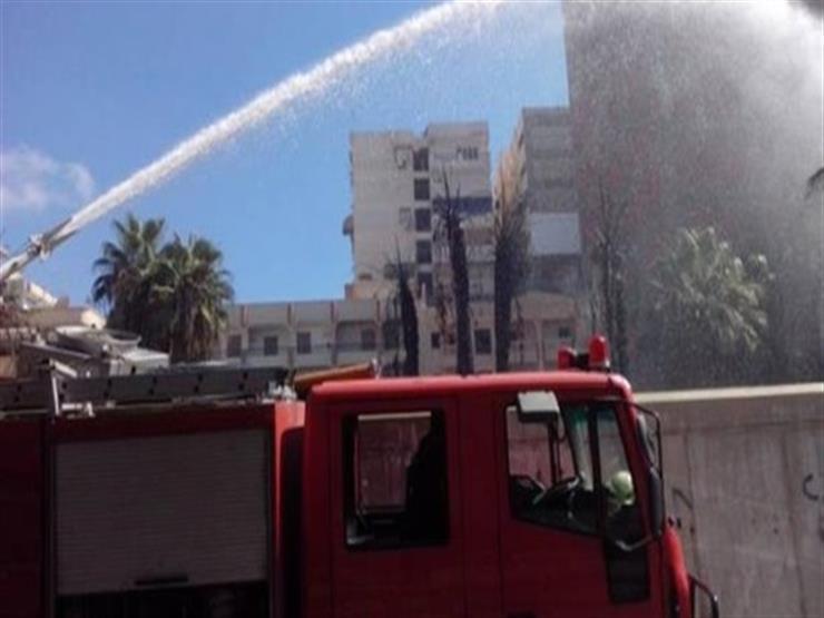 السيطرة على حريق مخزن مراتب إسفنجية في سوهاج