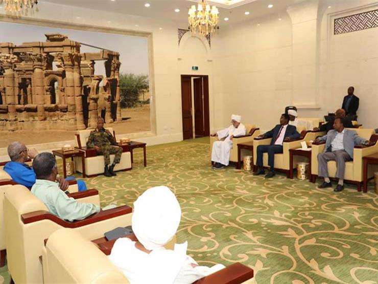 رئيس المجلس العسكري السوداني: نشكر دور مصر الداعم لبلادنا
