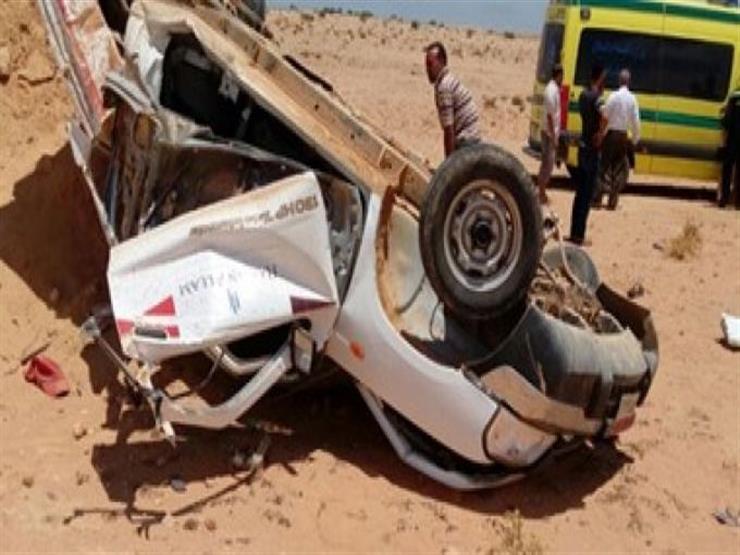 إصابة 5 أطفال في انقلاب سيارة بالشرقية