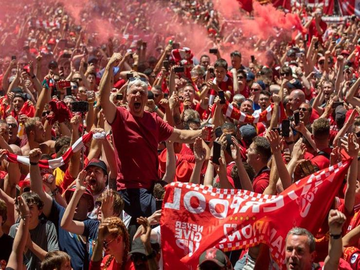 جماهير ليفربول تعتدي على حافلة ريال مدريد (صورة)