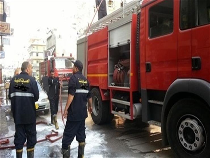 السيطرة على حريق بمكتب بحوث المياه في القناطر الخيرية