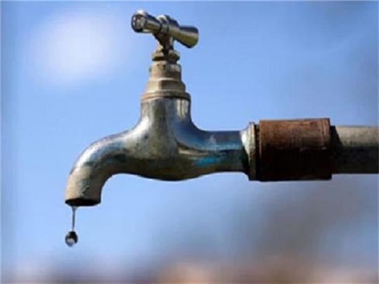 تبدأ خلال ساعات.. خريطة انقطاعات المياه عن عدة مناطق بالقاهرة والجيزة