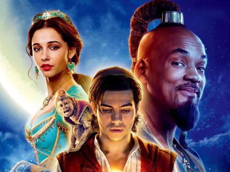 """إيرادات الجمعة.. """"Aladdin"""" في الصدارة و""""Godzilla"""" بالمركز السادس"""