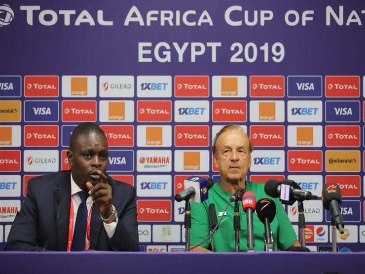مدرب نيجيريا: مباراة غينيا حاسمة.. وكالو جاهز للمشاركة