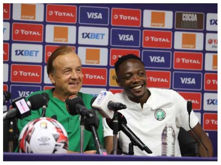 مدرب نيجيريا: لدينا ثقة كبيرة في اللاعبين ونحترم إمكانات المنافس