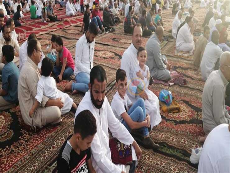 1900 مسجد يستقبل المصليين لأداء صلاة عيد الفطر  بأسوان