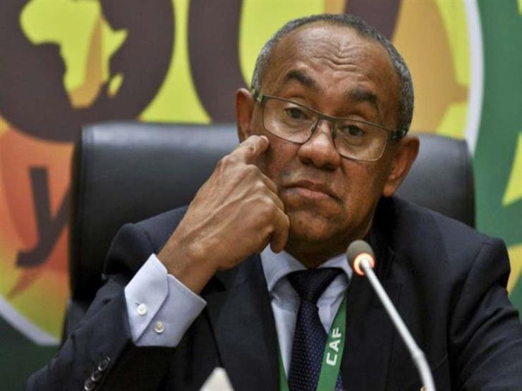 رئيس الكاف يناقش مع أبو ريدة استعدادات مصر لتنظيم الأمم الأفريقية