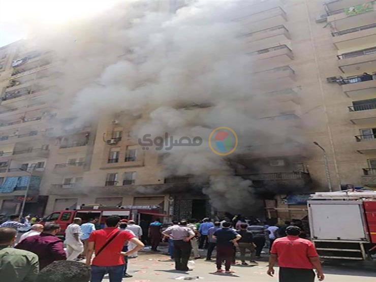 بعد انفجار أسطوانة غاز.. إصابة 4 أشخاص وتفحم مطعم ومحل في الإسكندرية