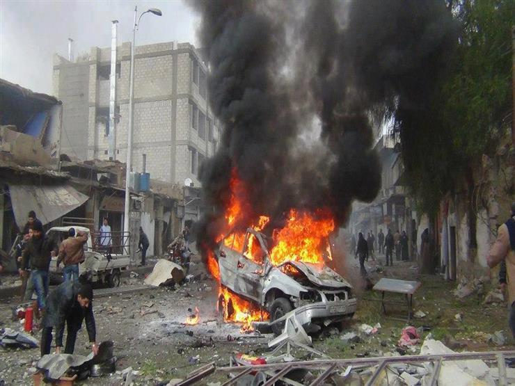 قتلى وجرحى من المعارضة السورية في انفجار سيارة مفخخة