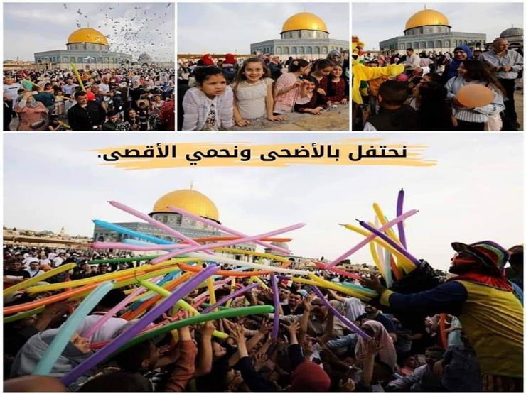 ليلة العيد في القدس.. رباط في الأقصى لحمايته من اقتحامات المستوطنين
