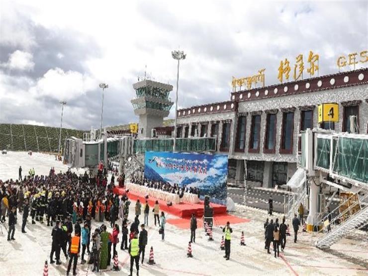 مطار صيني على ارتفاع 4 آلاف متر فوق مستوى سطح البحر