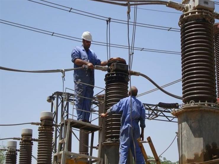 فصل التيار الكهربائي عن 20 منطقة في بورسعيد