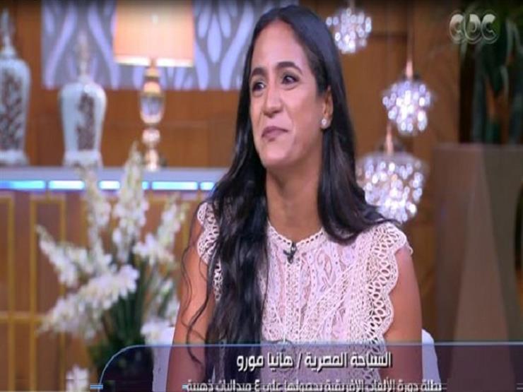 هانيا مورو تكشف عن تفاصيل اعتذارها عن بطولة العالم للسباحة-فيديو