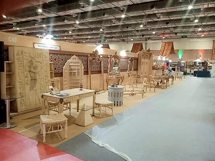 """وزيرة التجارة: إقامة معرض """"تراثنا"""" أربع مرات في السنة"""