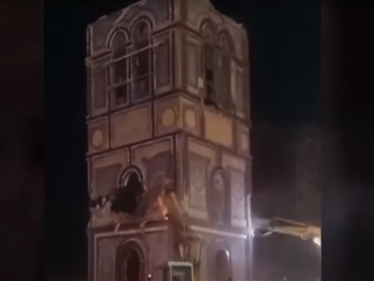 """""""لا يمثل أي رمز""""..رئيس حي العجمي يكشف تفاصيل هدم برج الميدان"""