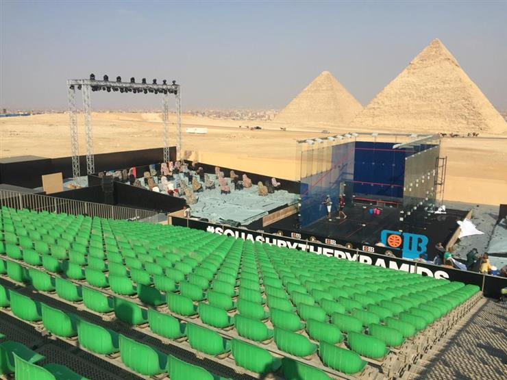 غدًا.. الأهرامات تحتضن منافسات الدور الـ16 لبطولة مصر الدولية للإسكواش