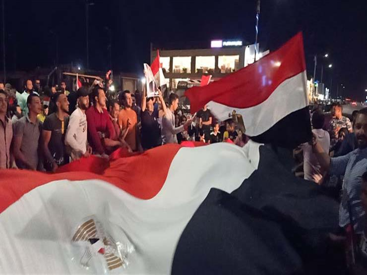 مواطنون في الأقصر يحتفلون بالذكرى 47 لانتصارات أكتوبر