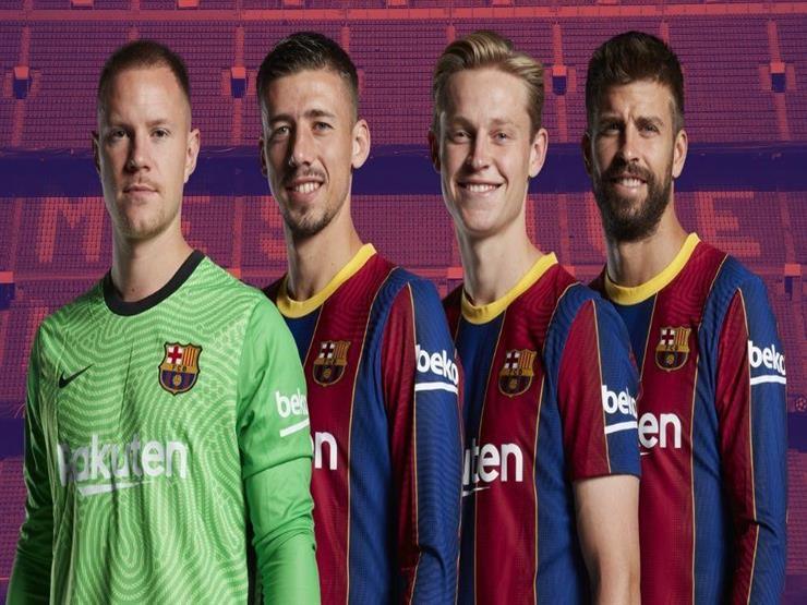 رسميا.. برشلونة يعلن التجديد لـ4 لاعبين