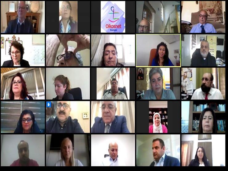 """الحوار العربي الأوروبي لمنتدى """"الإنجيلية"""" يشيد بجهود الحكومة المصرية لمواجهة كورونا"""